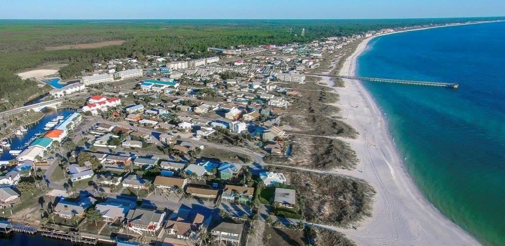 Mexico Beach Aerial